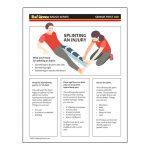 Girl Scout Senior First Aid Splint Worksheet