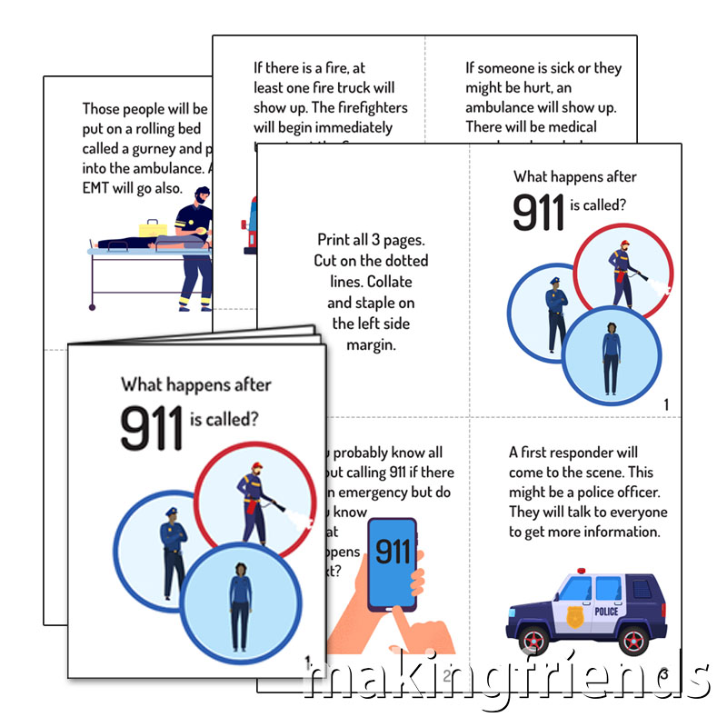 Girl Scout Senior First Aid 911 Booklet via @gsleader411