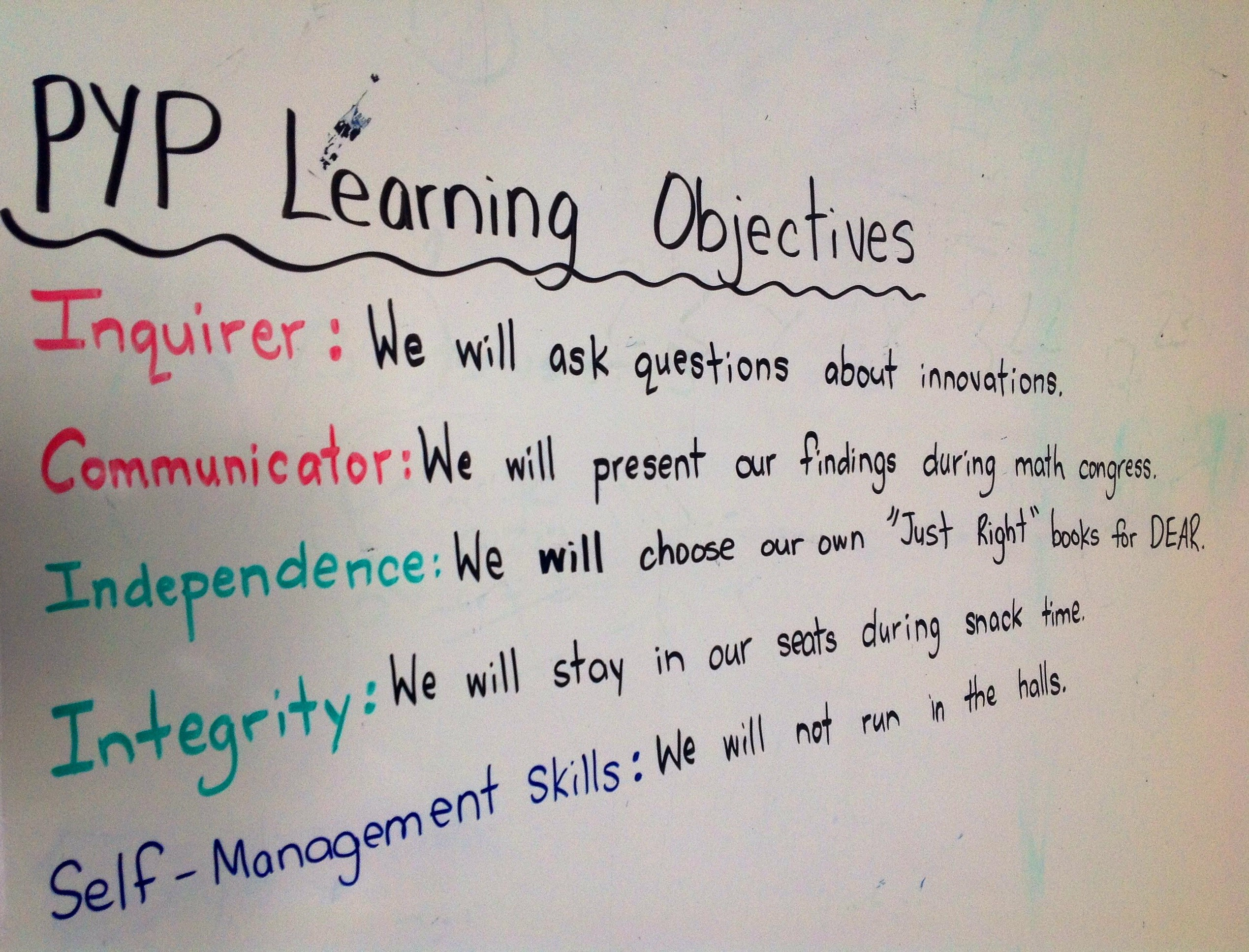 Daily Pyp Objectives An Attempt To Balance The 5 Elements