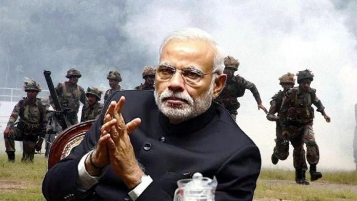 प्रधानमंत्री मोदी को आता है 'पागल' व्यक्तियों से निपटना