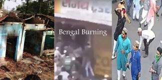bangal burning mamta benerji hindu muslim riots making india