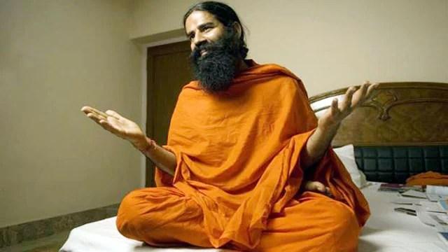 Baba Ramdev yogi sanyasi Patanjali