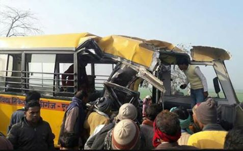 school bus accident eta