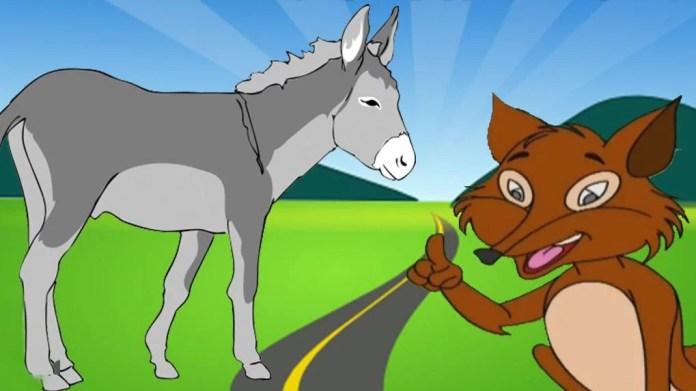 Fox and the Donkey purohitji kahin making india modi akhilesh