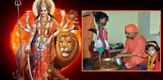 kanya pujan durga ashtami yogi adityanath making india