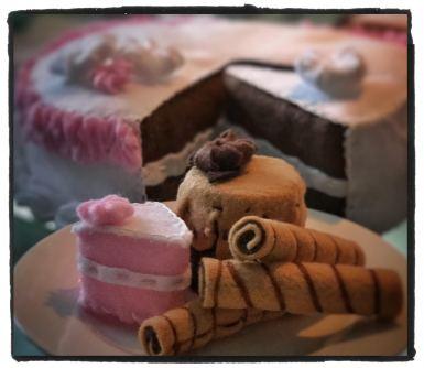 Little desserts.