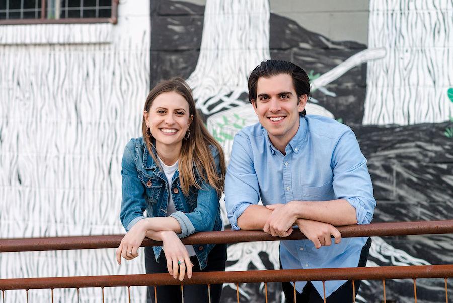 Sarah Dowling and Tony Ubertaccio