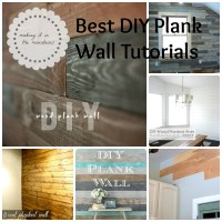 8 DIY Plank Wall Tutorials
