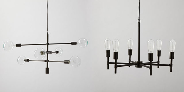 West Elm And Mobile Chandeliers