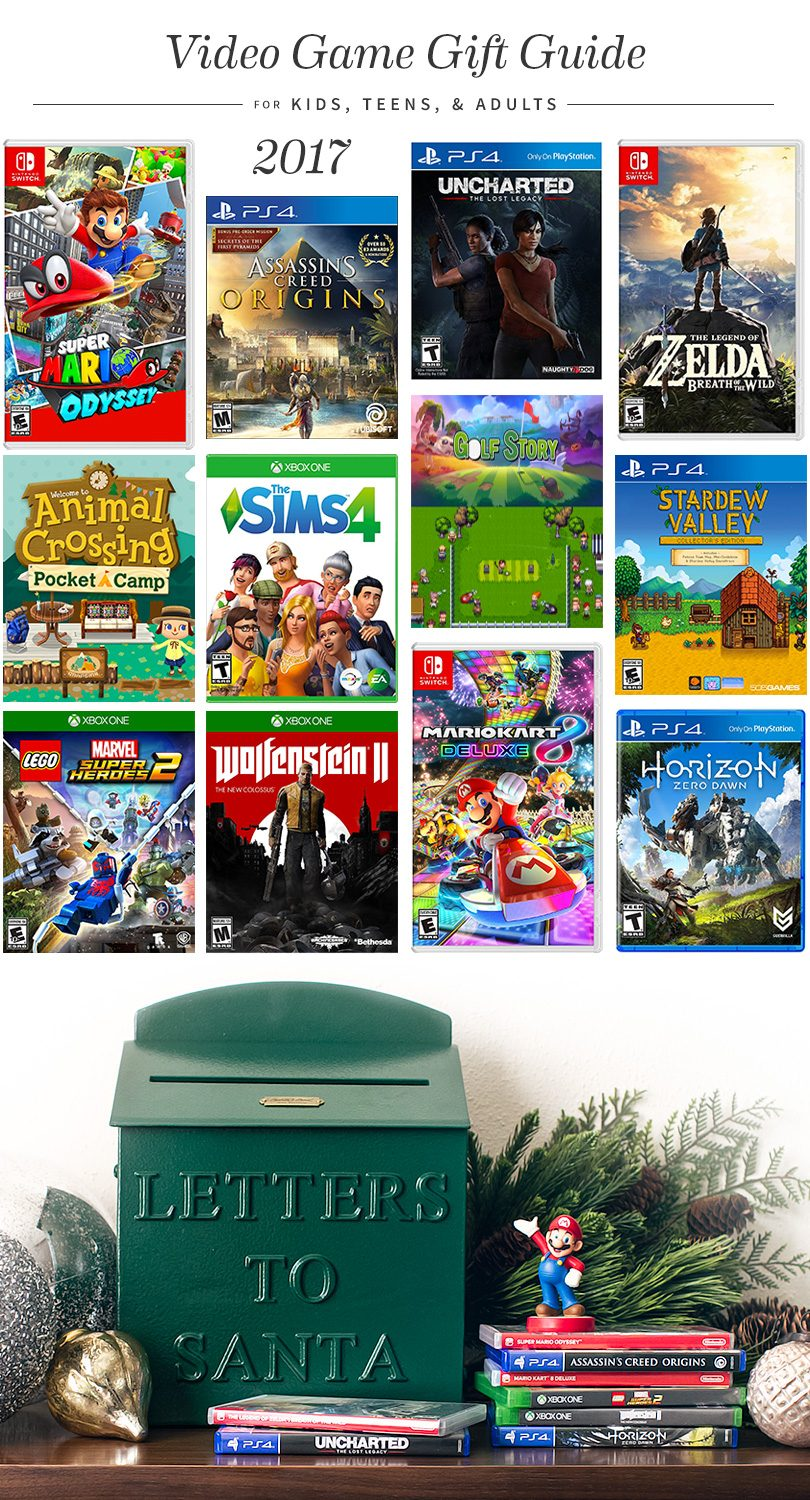 Video Game Gift Guide 2017