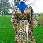 No Pattern Caftan Dress