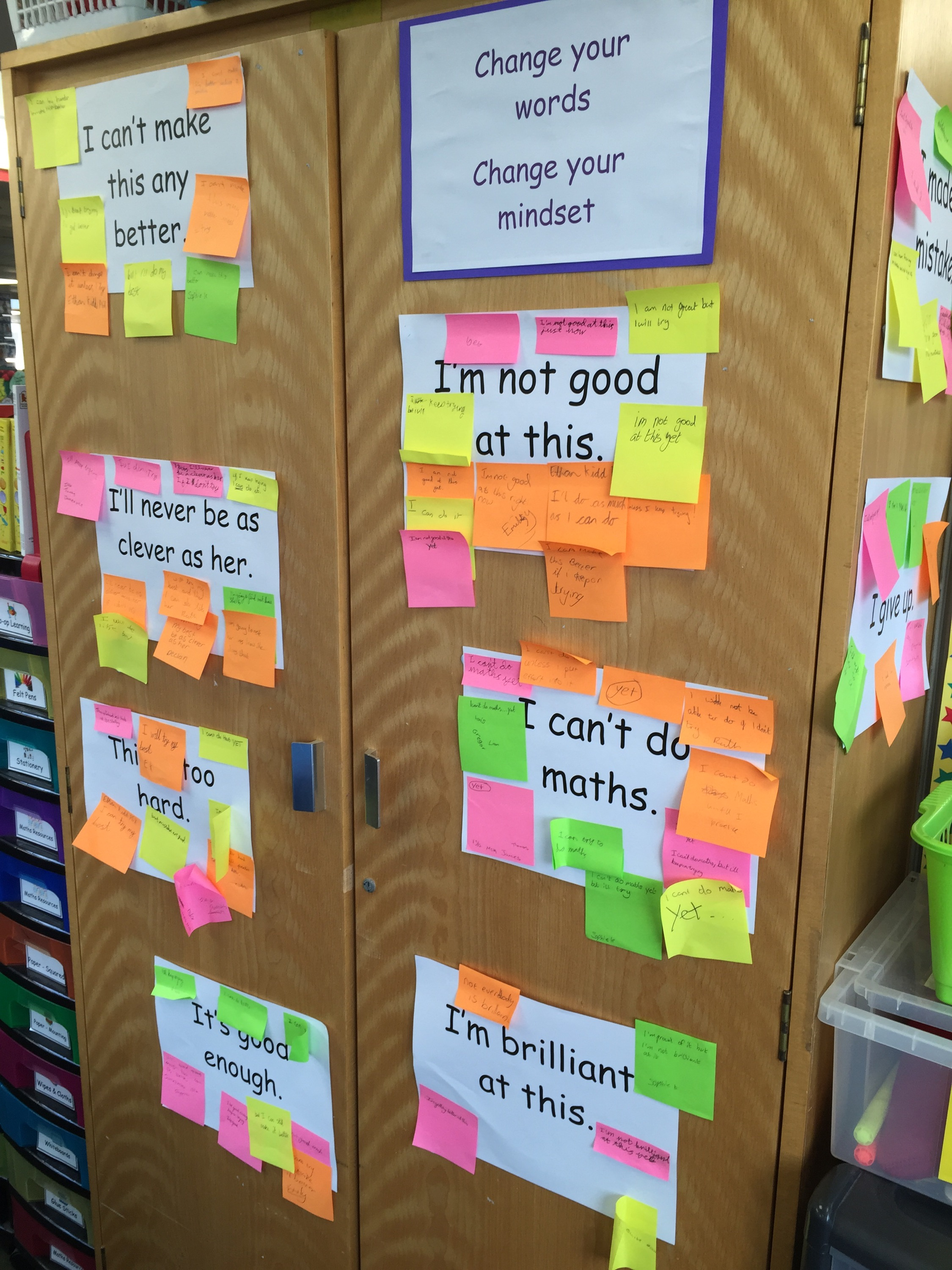 Developing Growth Mindsets