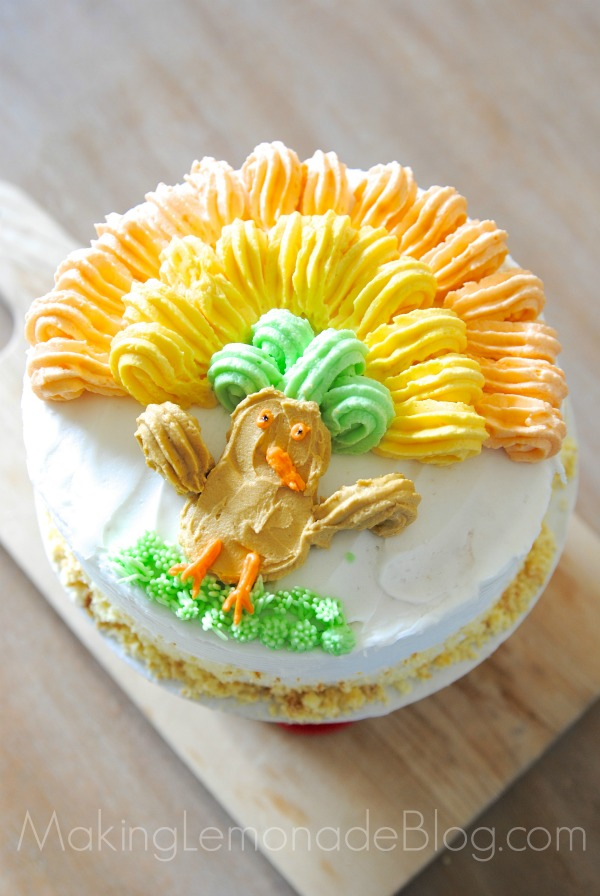 Cake Decorating Made Easy    Thanksgiving Cake Idea     Making Lemonade Cake decorating made easy  plus a tutorial for a super cute Thanksgiving  cake