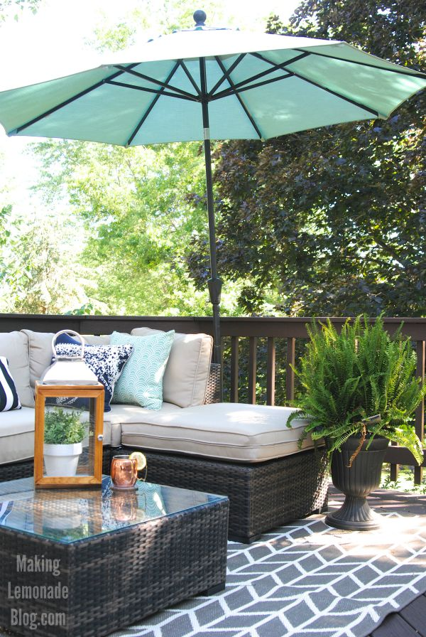 Deck and Outdoor Dining Area Reveal   Making Lemonade on Diy Backyard Deck Ideas id=80611