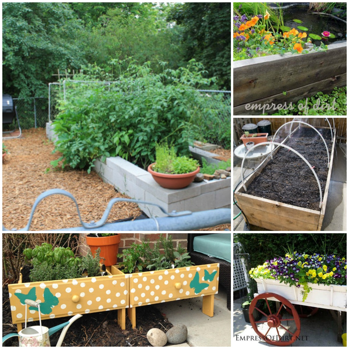 20 Brilliant Raised Garden Bed Ideas You Can Make In A ... on Raised Patio Designs  id=56865