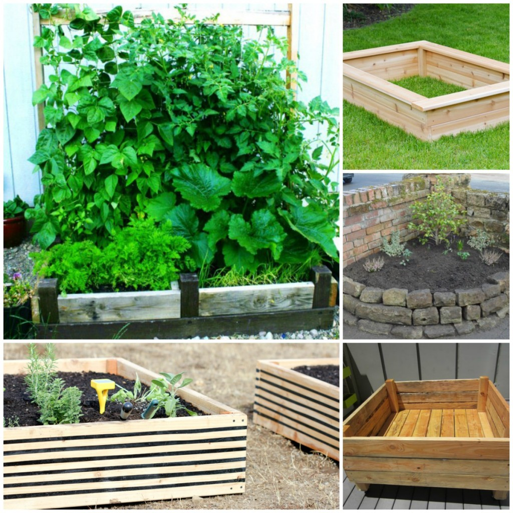 20 Brilliant Raised Garden Bed Ideas You Can Make In A ... on Backyard Raised Garden Bed Ideas id=73949