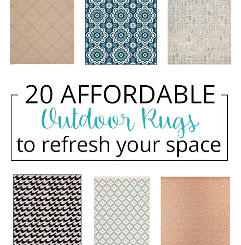20 affordable outdoor rugs so pretty
