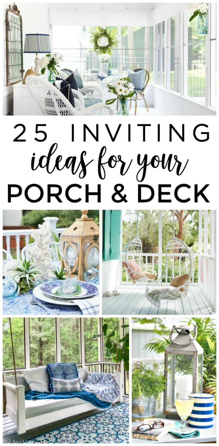 25 inviting screened porch and deck