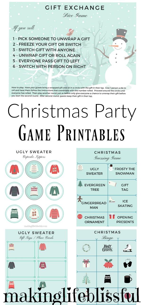Christmas Gift Exchange Games With Dice | Christmaswalls.co