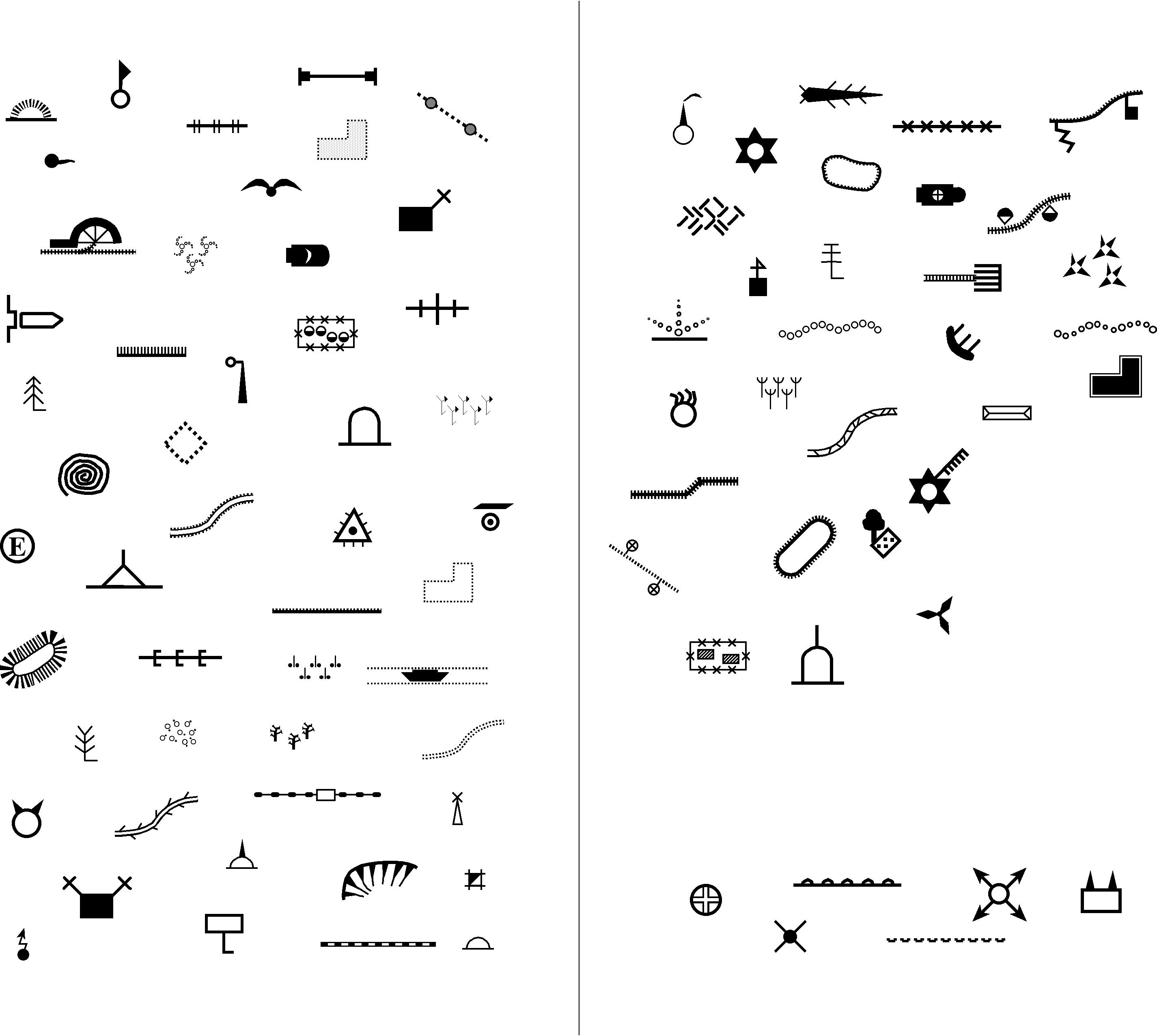 River Map Symbol