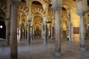 Interior of the Mosque of Córdoba