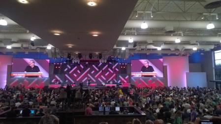 Rick Warren 'preaching it'