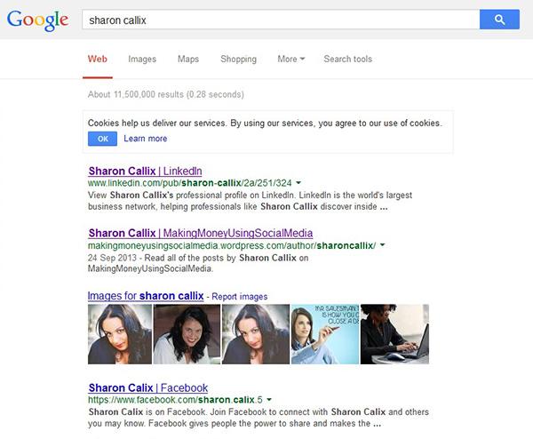 sharon callix google screenshot_new2