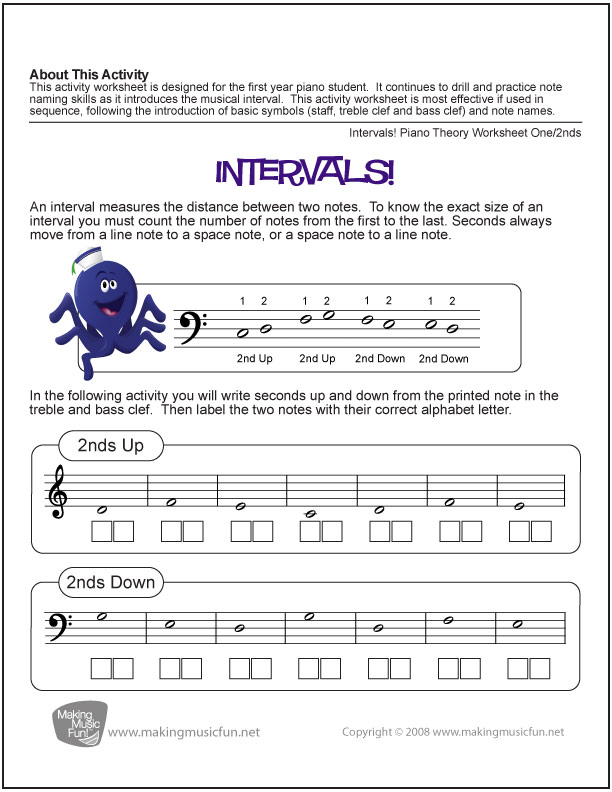 10 Music Theory Worksheets and Games for Kids – Music Theory Rhythm Worksheets