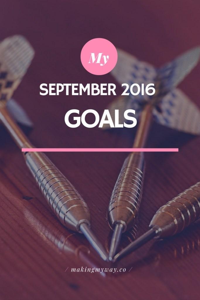 September Goals 2016