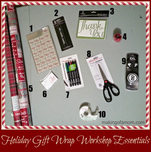 Holiday Gift Wrap Workshop Essentials