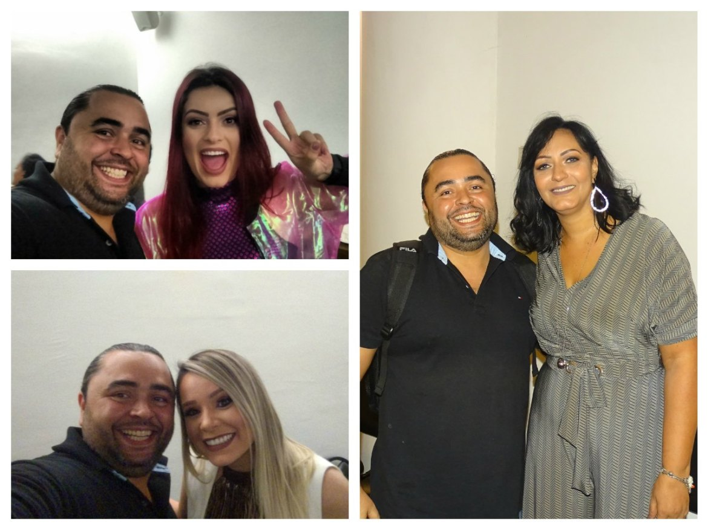 Jason Mello, Kim RosaCuca, Camilla Cabral e Jaqueline Fernandes