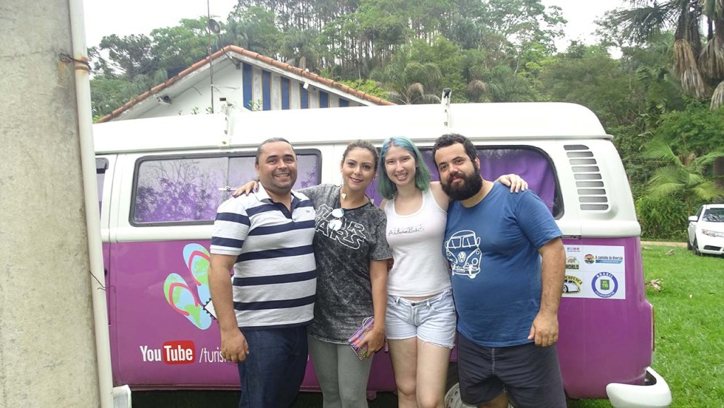 Jason (Makingoffbloggers) - Kelly (CariocaBonita) - Stefane e Luid (TurismoPedeChinelo)