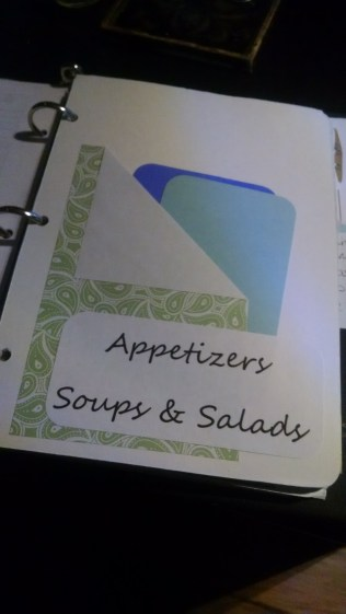 appetizer section