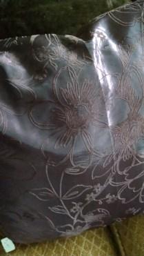 faux silk dupioni pillow