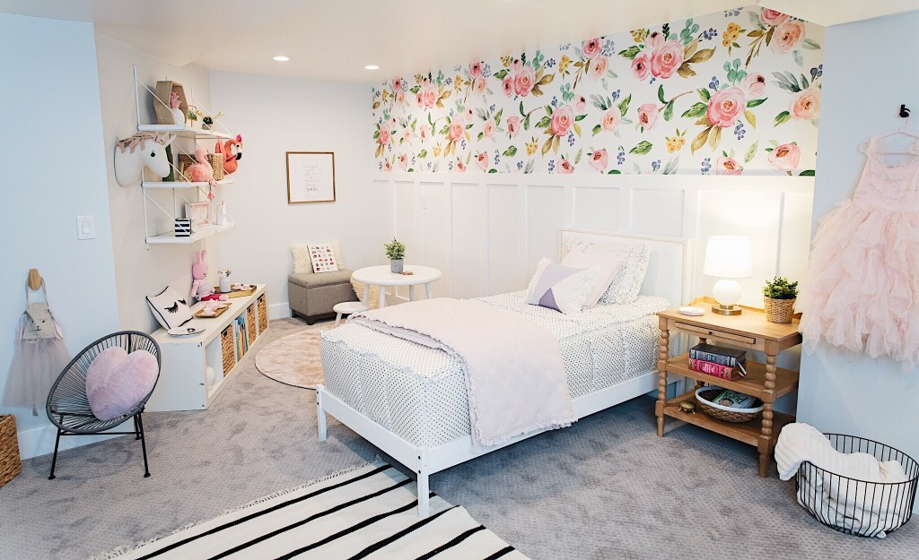 Little Girls Bedroom One Room Challenge Take 2