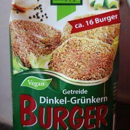Dinkel-Grünkern-Burger