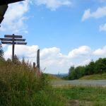 Blick aus der Schutzhütte am Molkenhausstern, Brockengebiet