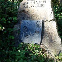 Gedenkstein an der Lasfelder Tränke
