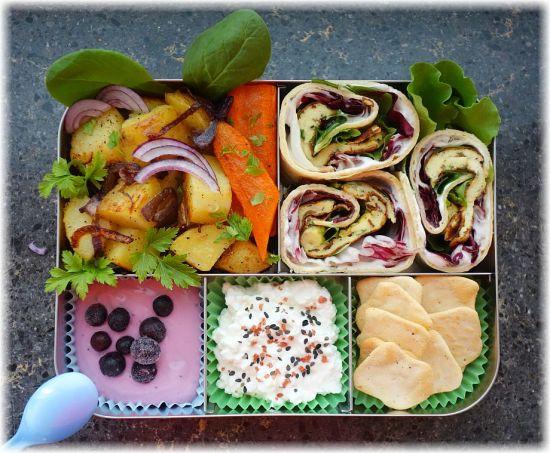 Lunchbots Bento Cinco