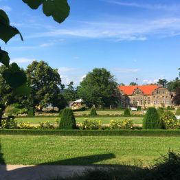 """Das Blankenburger """"Kleine Schloß"""" mit barockem Garten"""