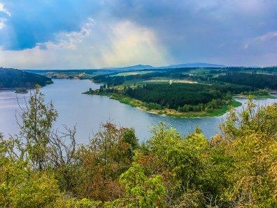"""Spektakulär schön: Der Aussichtspunkt """"Rotestein"""" oberhalb der Rappbodetalsperre!"""