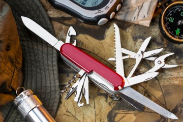 A good Swiss Army knife is hard to beat for a man's every day carry knife.