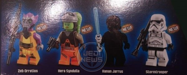 REBELS LEGO FIGS
