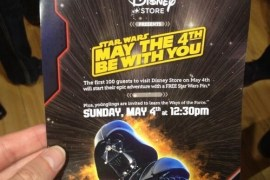 swflyer 1 - May the Fourth Events at Disney Store