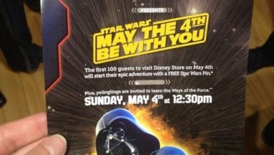 Photo of May the Fourth Events at Disney Store