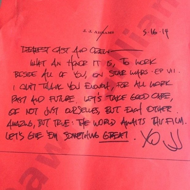 Abrams Letter