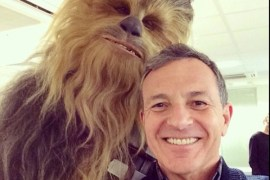 Instagram Chewie - Did the official Star Wars Instagram share a photo of Star Wars: Episode VII's Chewbacca costume?