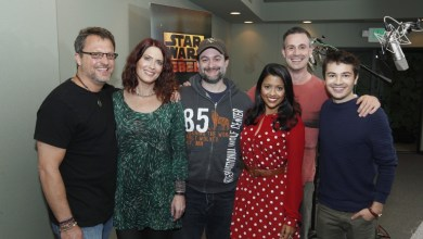 UPDATED: New Pictures of the Star Wars Rebels Cast