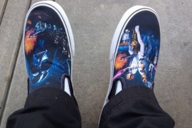 20140624 200322 72202154 - Vans X Star Wars Classic A New Hope Slip-on Photos and Review.