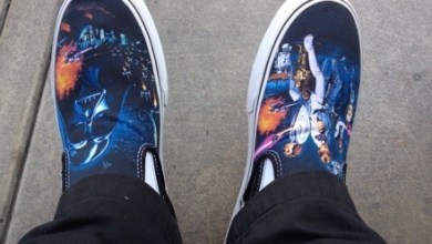 Vans X Star Wars Classic A New Hope Slip-on Photos and Review.
